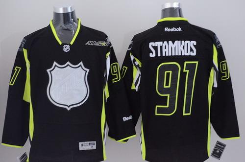 Tampa Bay Lightning #91 Steven Stamkos 2015 All-Stars Black Jersey