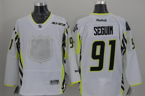 Dallas Stars #91 Tyler Seguin 2015 All-Stars White Jersey