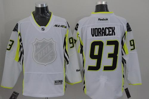 Philadelphia Flyers #93 Jakub Voracek 2015 All-Stars White Jersey