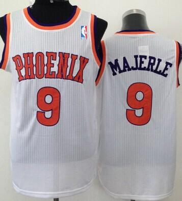 Phoenix Suns #9 Dan Majerle White Swingman Jersey