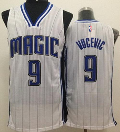 Orlando Magic #9 Nikola Vucevic White Swingman Jersey