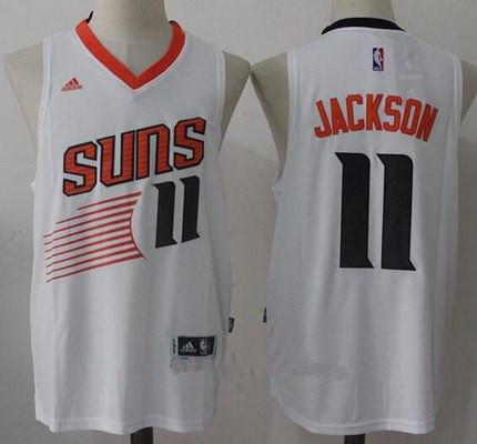 Men's 2017 Draft Phoenix Suns #11 Josh Jackson White Stitched NBA adidas Revolution 30 Swingman Jersey