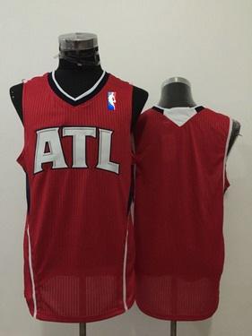 Men's Atlanta Hawks Blank Red Swingman Jersey