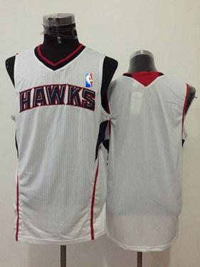 Men's Atlanta Hawks Blank White Swingman Jersey