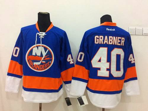Men's New York Islanders #40 Michael Grabner Light Blue Jersey