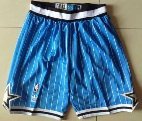 Men's Orlando Magic Blue Pinstripe Short