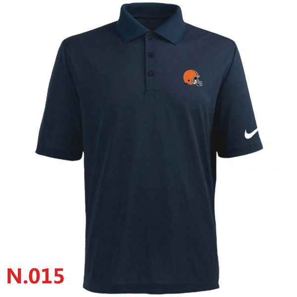 Nike Cleveland Browns 2014 Players Performance Polo -Dark Blue
