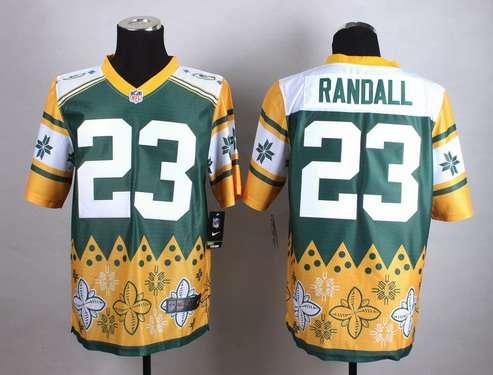 Nike Green Bay Packers #23 Damarious Randall 2015 Noble Fashion Elite Jersey