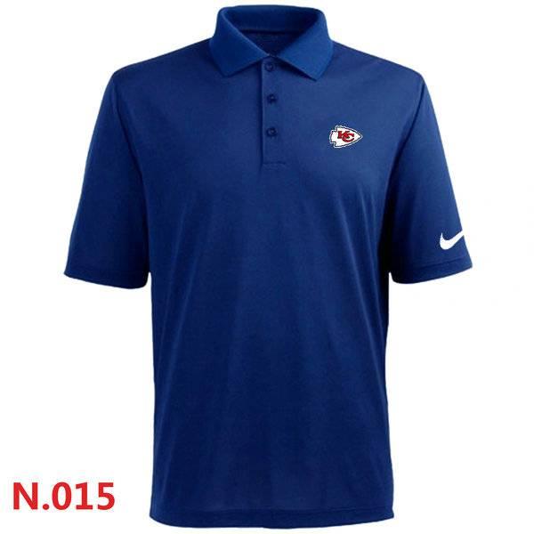 Nike Kansas City Chiefs 2014 Players Performance Polo -Blue