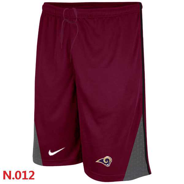 Nike NFL St.Louis Rams Classic Shorts Red