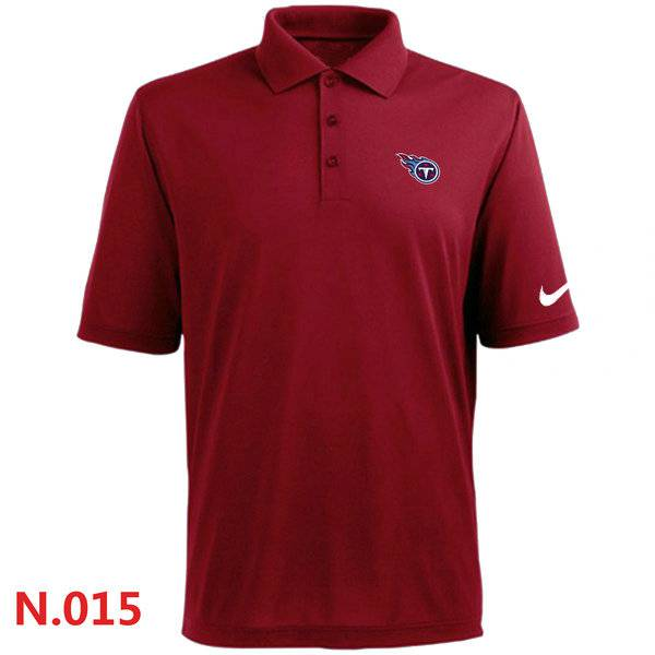 Nike Tennessee Titans Players Performance Polo -Red