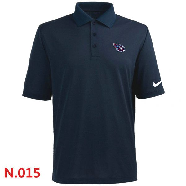 Nike Tennessee Titans Players Performance Polo Dark blue