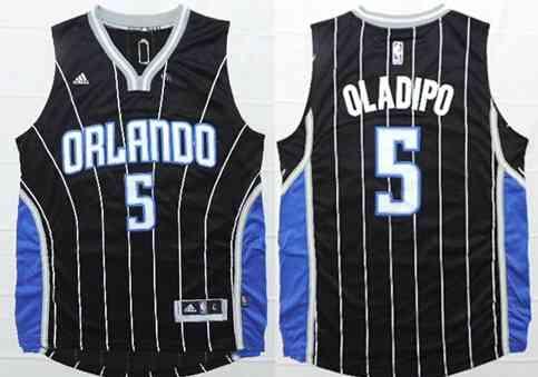 Orlando Magic #5 Victor Oladipo Revolution 30 Swingman 2014 New Black Jersey