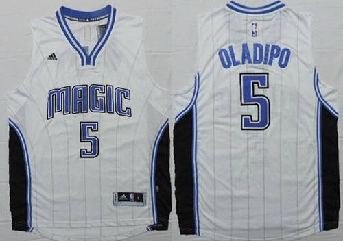 Orlando Magic #5 Victor Oladipo Revolution 30 Swingman 2014 New White Jersey