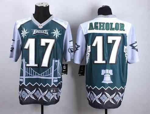 Philadelphia Eagles #17 Nelson Agholor 2015 Nike Noble Fashion Elite Jersey