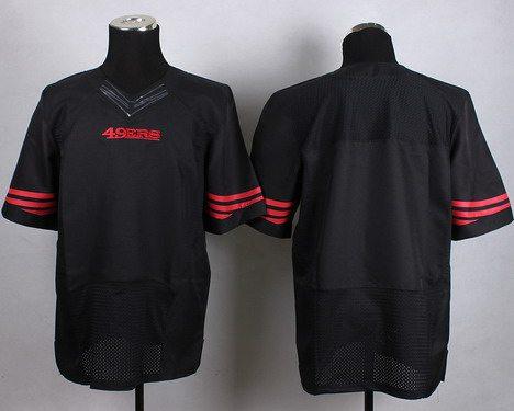San Francisco 49ers Nike Black Customized 2015 Elite Jersey