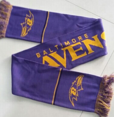 Baltimore Ravens Purple Scarf