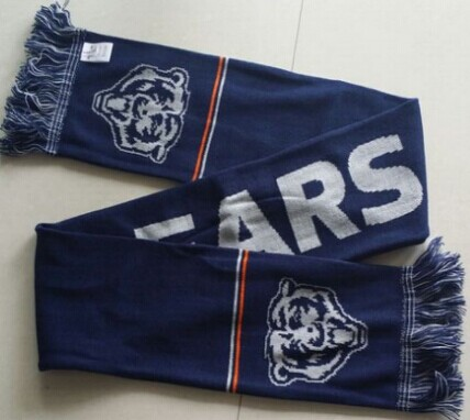 Chicago Bears Navy Blue Scarf