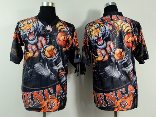 Nike Cincinnati Bengals Blank 2014 Fanatic Fashion Elite Jersey