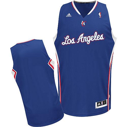 Los Angeles Clippers Blank Blue Swingman Jersey