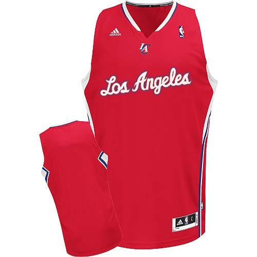 Los Angeles Clippers Blank Red Swingman Jersey