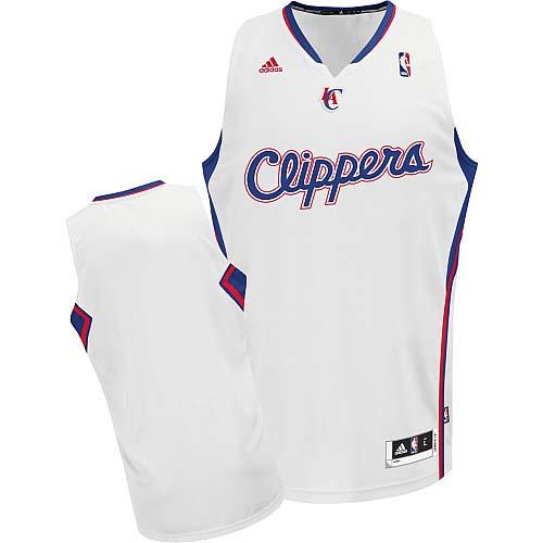 Los Angeles Clippers Blank White Swingman Jersey