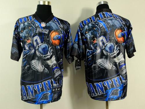 Nike Carolina Panthers Blank 2014 Fanatic Fashion Elite Jersey