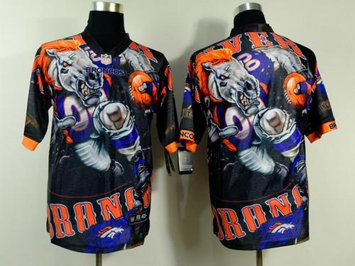 Nike Denver Broncos #43 T.J. Ward 2014 Fanatic Fashion Elite Jersey