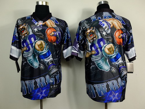 Nike Dallas Cowboys Blank 2014 Fanatic Fashion Elite Jersey