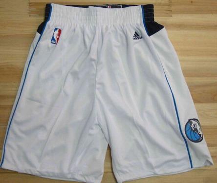 Dallas Mavericks White Short