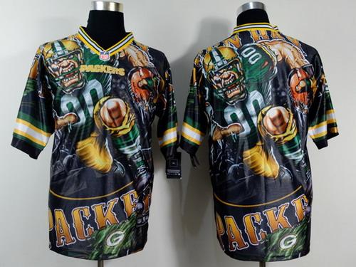 Nike Green Bay Packers Blank 2014 Fanatic Fashion Elite Jersey