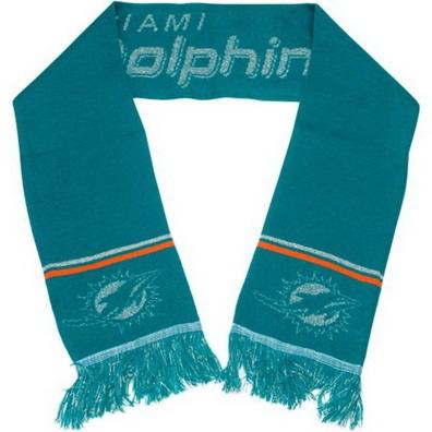 Miami Dolphins Green Scarf