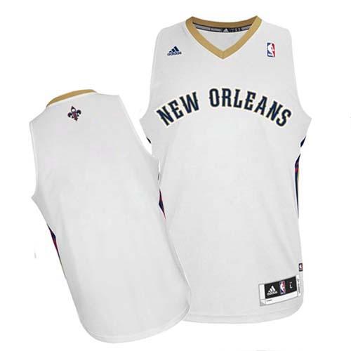 New Orleans Pelicans Blank White Swingman Jersey