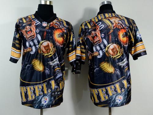 Nike Pittsburgh Steelers Blank 2014 Fanatic Fashion Elite Jersey