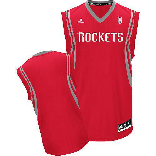 Houston Rockets Blank Red Swingman Jersey