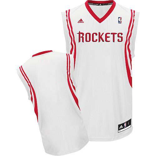 Houston Rockets Blank White Swingman Jersey