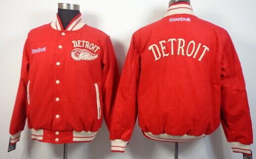 Detroit Red Wings Blank Red Jacket
