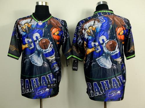 Nike Seattle Seahawks Blank 2014 Fanatic Fashion Elite Jersey