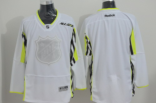 2015 NHL All-Stars Blank White Jersey
