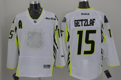 Anaheim Ducks #15 Ryan Getzlaf 2015 All-Stars White Jersey