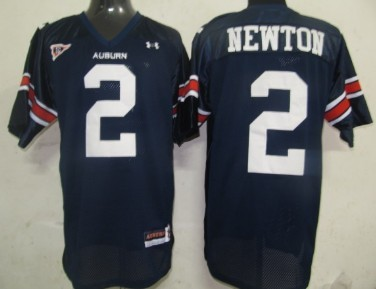 Auburn Tigers #2 Newton Navy Blue Jersey