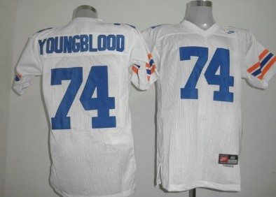 Florida Gators #74 Jack Youngblood White Jersey