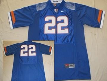 Florida Gators #22 Emmitt Smith Blue Fighting Jersey