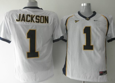 California Golden Bears #1 Jackson White Jersey