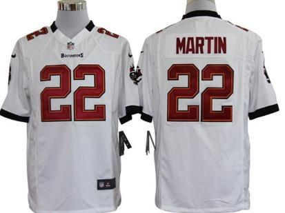 Nike Tampa Bay Buccaneers #22 Doug Martin White Game Jersey