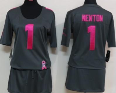 quality design 837f0 629b6 Nike Carolina Panthers #59 Luke Kuechly 2012 Womens Zebra ...