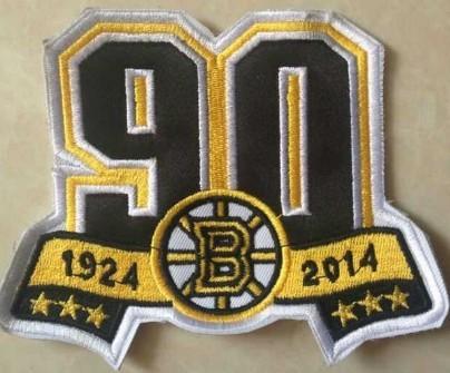 Boston Bruins 90th Anniversary Patch