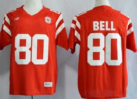 Nebraska Cornhuskers #80 Kenny Bell 2013 Red Jersey