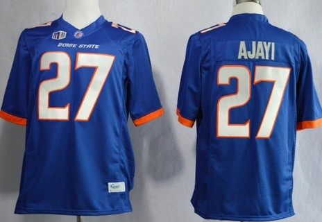 Boise State Broncos #27 Jay Ajayi 2013 Blue Jersey