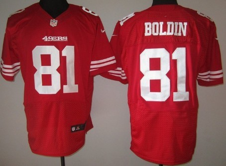 b9dbc5d6118 Nike San Francisco 49ers  81 Anquan Boldin Red Elite Jersey on sale ...